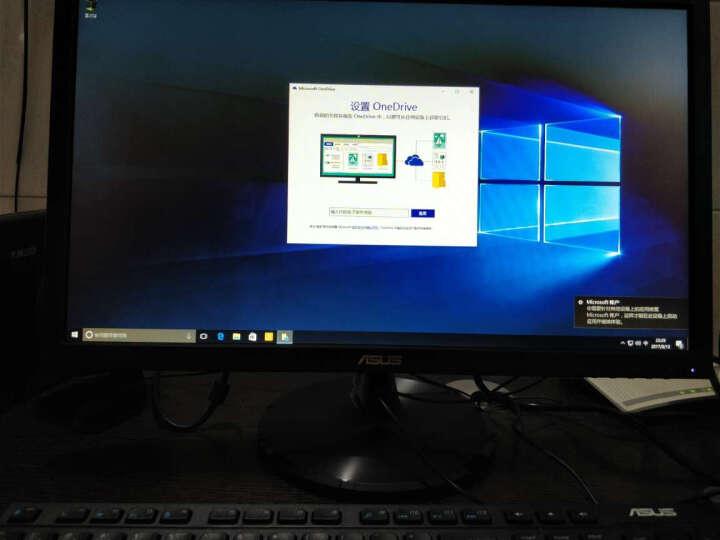 华硕(ASUS)灵睿K20 家用办公台式电脑整机(Intel酷睿i3 4G 1T 集显 10L小机箱)21.5英寸 晒单图