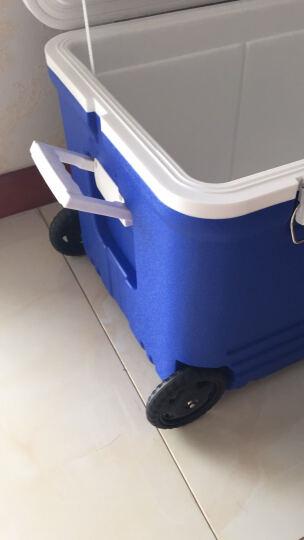 ICERS 保温箱车载药品胰岛素冷藏箱保鲜箱 55升 有轮 蓝白色 晒单图