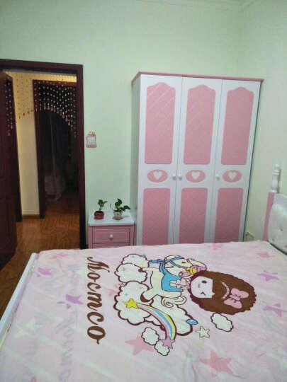 七彩元素儿童床欧式床男孩单人床1.2米1.5米卧室套房357 双抽床+床头柜*1+805床垫+三门衣柜 1500*2000 晒单图