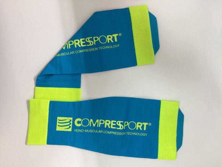 COMPRESSPORT 瑞士compressport r2运动压缩腿套小腿套护腿套 新款V2紫 T1腿围30-34 晒单图