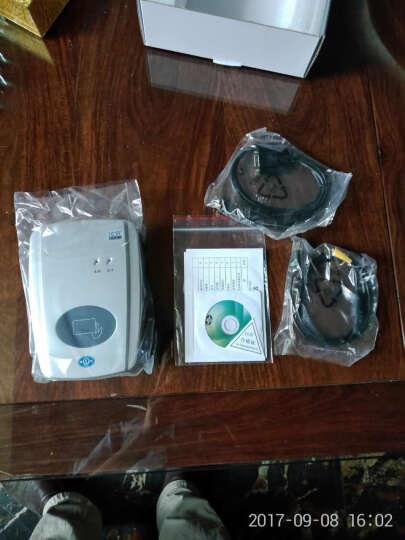 神盾ICR-100M居民身份证阅读机具 第二三代身份证阅读器读卡器 兼具USB和串口 晒单图
