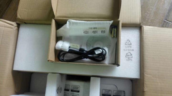 明基(BenQ) 短焦投影机 超短焦投影仪办公 DW862UST(超短焦10cm投80英寸) 官配+吊架+10米电脑线+幕布 晒单图