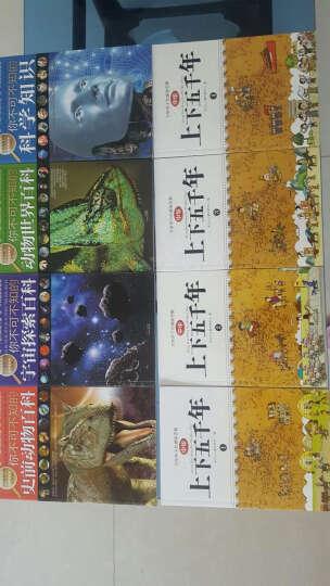 你不可不知的学生探索书系:动物世界百科·史前动物百科·科学知识·宇宙探索百科(套装共4册) 晒单图