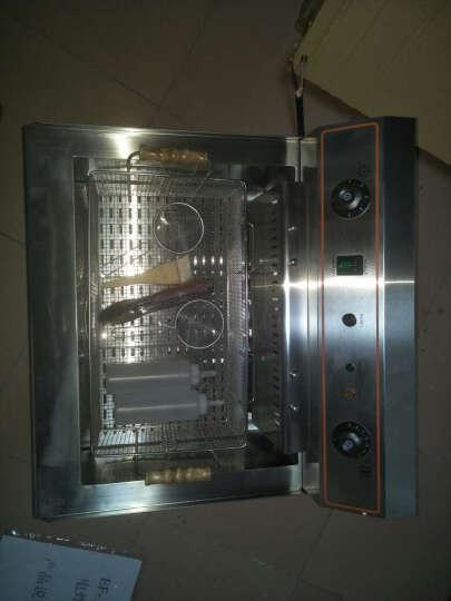 XINDIZHU 商用电炸炉油炸锅炸油条机定时温控单缸大容量加厚油炸机电炸锅炸鸡炉炸鸡排 EF-201V专用炸网 晒单图