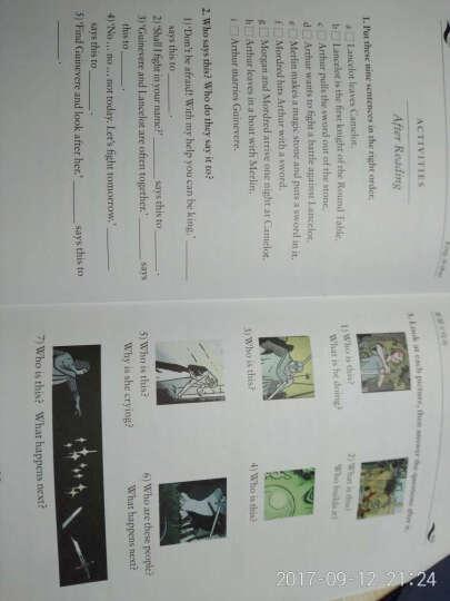 书虫·牛津英汉双语读物:亚瑟王传奇(入门级)(适合小学高年级、初1) 晒单图