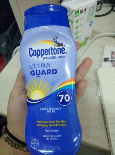 水宝宝(Coppertone)优质超透气清爽防晒霜SPF70+ 237ml (美国原装进口) 晒单图
