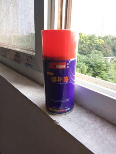 屹扬(Eyoung)铝合金门窗翻新漆凤铝坚美伟昌修补亚光黑白咖啡色铝合金自喷罐漆 DT2851象牙白500ML 晒单图