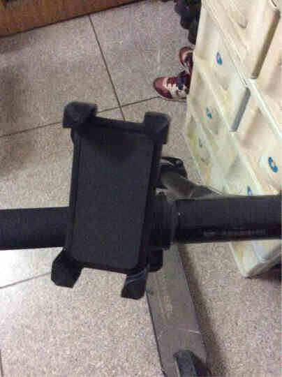 半驴电动车自行车手机支架 摩托车踏板车骑行导航架配件骑行装备 支持3.5-7寸手机 晒单图