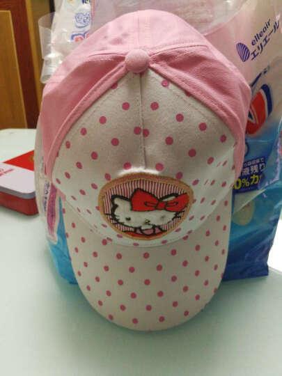 凯蒂猫(HELLO KITTY)儿童棒球帽(遮阳帽) KT4058 白粉 52cm 晒单图