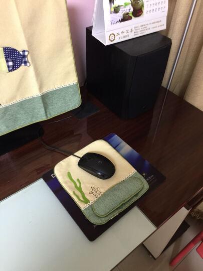 欣伊 布艺笔记本套 电脑罩 电脑套 可爱防尘罩 笔电一体机保护罩 水草小鱼图案 鼠标护腕垫 晒单图