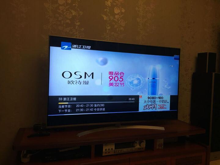 LG 65UH8500-CA 65英寸4K超清3D网络智能平板电视机 晒单图