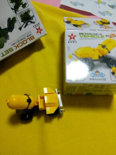 爱美达 积木玩具塑料拼插机器人 积变恐龙暴龙神大力神 男孩益智拼装玩具 81518激光 晒单图