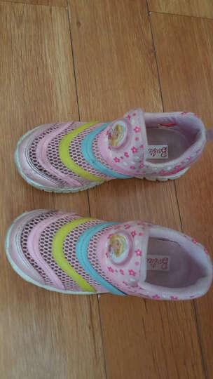 芭比 BARBIE 儿童运动鞋 毛毛虫童鞋 男女童运动鞋 1632粉色34 晒单图