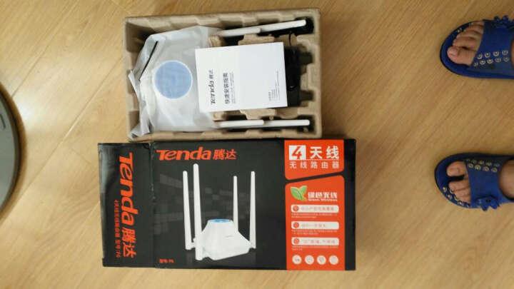 腾达 路由器无线四天线300M穿墙王迷你家用智能宽带路由器AP中继wifi信号放大器接收器 晒单图