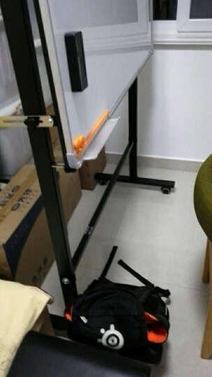 得力(deli) 112*57*151cm可移动白板架、通用型白板架(加厚、稳定、双横杠)7870 晒单图