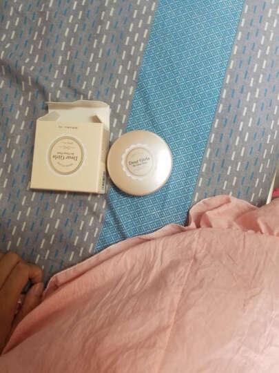 爱丽小屋少女干粉定妆粉饼粉底散粉控油遮瑕 爱丽粉饼3#润红色 晒单图