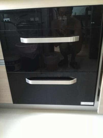 欧尼尔(OUNIER) 消毒柜消毒碗柜嵌入式内嵌大容量高温低温家用臭氧紫外线厨房茶具X8 黑色高温 晒单图