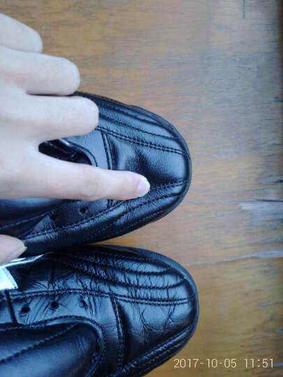 亚瑟士asics TST656-9001足球鞋碎钉男成人防滑 亚瑟士足球鞋tf袋鼠皮男足鞋 黑色 42-265MM 晒单图