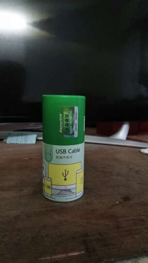 绿巨能 type-c数据线 适用华为p9/p10/荣耀8/小米5/乐视2/坚果等手机充电线 凯拉夫编织数据线1.2米蓝色 晒单图