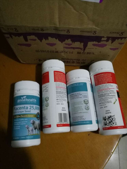 【2件5折】好健康(Good Health) 好健康 葡萄籽精华软胶囊 美容养颜嫩肤120粒 晒单图