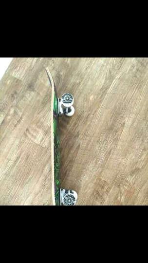 SWAY 成人滑板四轮双翘专业4轮男女公路板儿童枫木入门刷街板 (女生板-闪光Ms.Giraffe)-送大礼包 晒单图