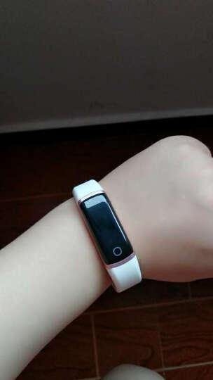 乐心(lifesense) 乐心手环智能运动手环表ziva心率手环自动跑步识别触摸OLED屏手环 ZIVA玫瑰金&信念色(1对) 晒单图