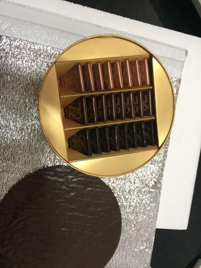 【顺丰空运】比利时进口巧克力GODIVA歌帝梵经典黑巧片装礼盒装圆形24块圣诞节礼物送女友 晒单图