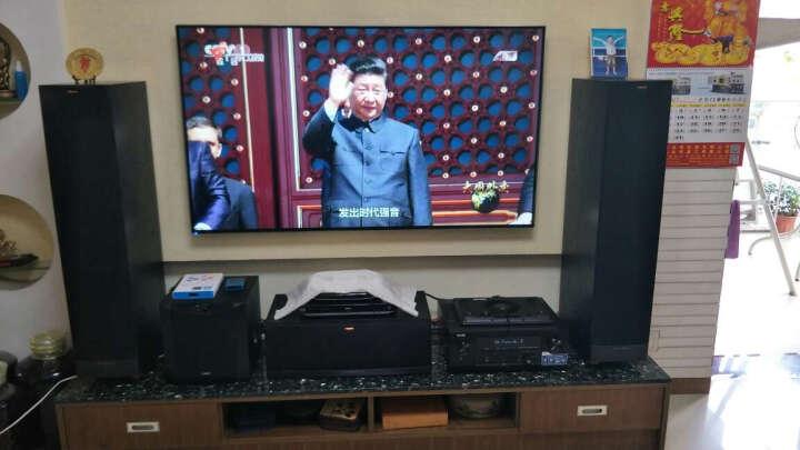 杰士(Klipsch)RF62II+RC52II+RS42II*2+SW112 音响 音箱  7.1家庭影院套装 HIFI 高保真 (黑色) 晒单图