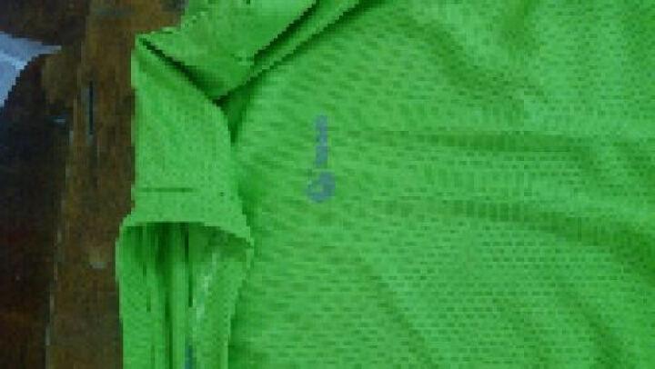 日高(NIKKO)户外速干T恤 夏季新款短袖快干衣透气吸汗运动速干衣跑步健身运动服上衣情侣款 010荧光绿(男) XL 晒单图