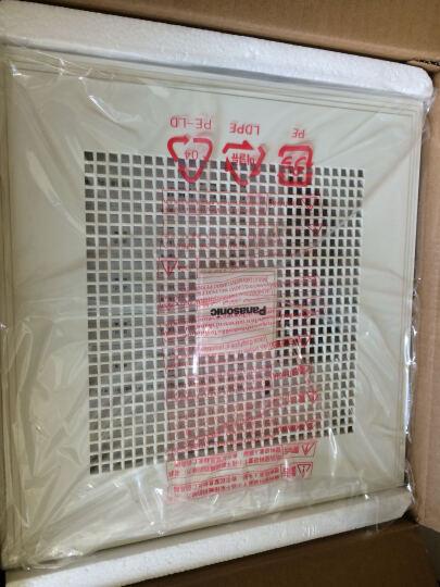 松下(Panasonic)浴霸集成吊顶风暖型多功能暖风机LED照明取暖换气浴室卫生间无线遥控暖浴快 晒单图
