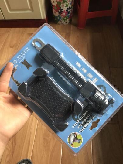 摩托车手机支架通用型电动车后视镜款支架手机导航仪支架 JS-030 黑色 晒单图
