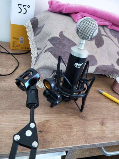 客所思 S10 外置声卡套装电脑网络K歌电音变声USB电容麦克手机唱吧 S10+PM90送耳机 晒单图