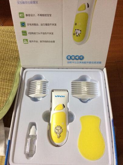 易简(yijian)婴儿童理发器 宝宝剃头器 电推剪发器电动推子干电池驱动理发器HK100 晒单图