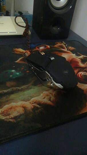火银狐 牧马人4代鼠标 电竞有线USB笔记本台式机 静音非无声(刺激战场吃鸡绝地求生 游戏鼠标) 3代牧马人黑色键盘鼠标套装 晒单图