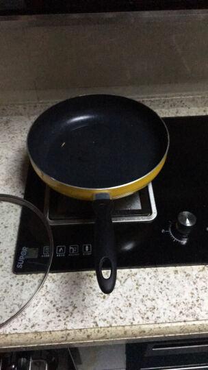 苏泊尔28cm好帮手炫彩不粘煎锅平底锅明火、电磁炉通用PJ28M5 晒单图