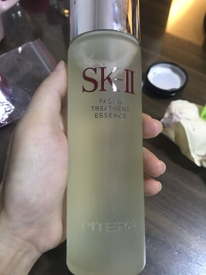 SK-II神仙水160ml(SK2精华液 护肤品 爽肤水 补水保湿 化妆品 ) 晒单图