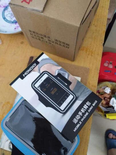 蒙奇奇跑步手机臂包运动防汗男女套包壳袋 iPhoneX/苹果8plus/7/华为/小米 经典黑 (5.5英寸以内 晒单图