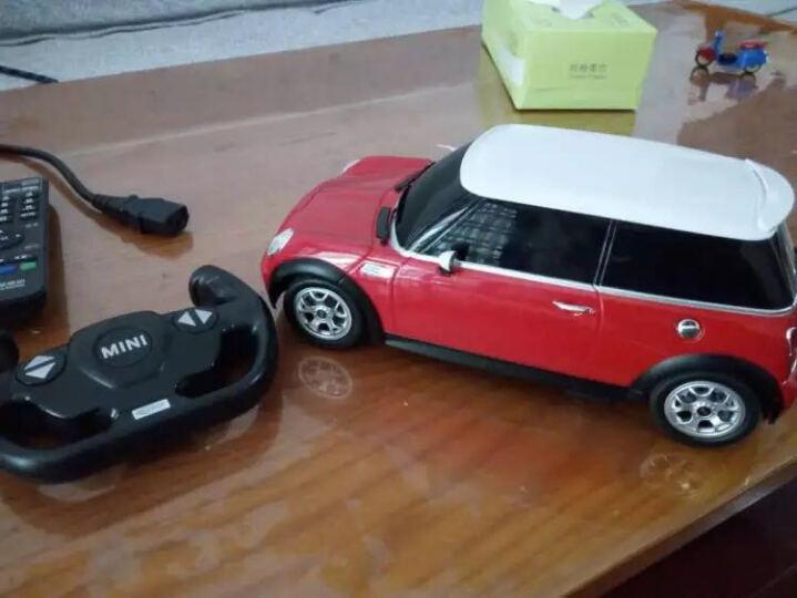 星辉(Rastar) Rastar/星辉 宝马MINI电动遥控汽车儿童玩具车遥控车赛车 银色 基础版1比14 晒单图