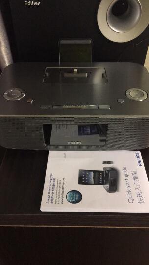 飞利浦(PHILIPS)DC295 苹果iPhone6S/6Plus/5/ipad4充电器 音乐底座音响 家居音箱 闹钟/FM收音/遥控 晒单图