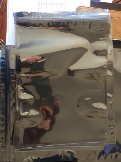 云野厚防静电袋 自封口防静电袋 带骨真空袋 拉链袋 防止静电放电ESD袋 230x240mm 10个 晒单图