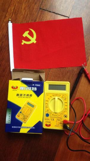帕司特 口袋掌上数字钳型电流万用600V 电流 液晶低电压数字显示万用表 DT830B 晒单图