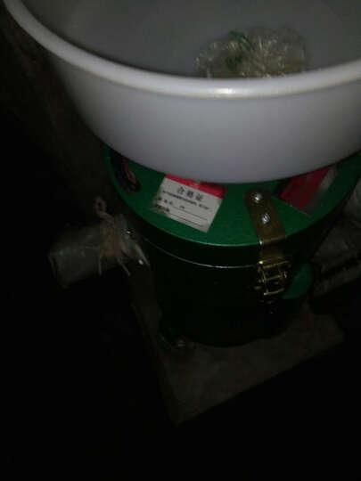 纳丽雅 磨浆机商用电动浆渣分离豆浆机不锈钢多功能打浆机豆腐机 100型烤漆红 晒单图