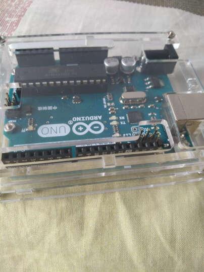 奥松机器人(RobotBase) 奥松机器人 Arduino UNO R3 开发板 原装正品 控制器+USB线+外壳+爱上Arduino书籍 晒单图