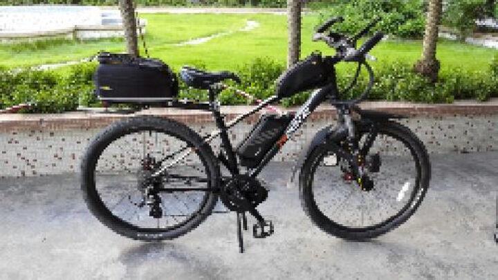 骑达(RBIKE) RBIKE骑达  26寸电动自行车 智能助力自行车 中置电机500W R6X 晒单图