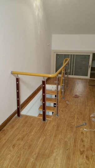 蓝伦索 室内家用钢木脊索复式楼梯 定制楼梯 楼梯扶手 3175 晒单图