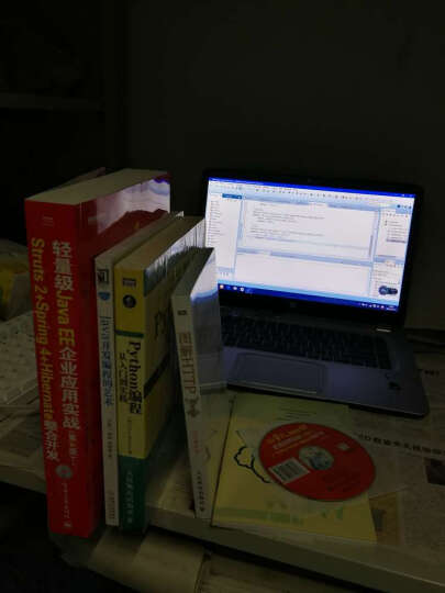 轻量级Java EE企业应用实战:Struts2+Spring4+Hibernate整合开发(第4版 附CD光盘) 晒单图