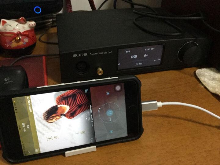 奥莱尔/aune S6 USB界面DSD解码耳放一体机 32BIT/384K 单端/平衡 解码器 黑色 Black 晒单图