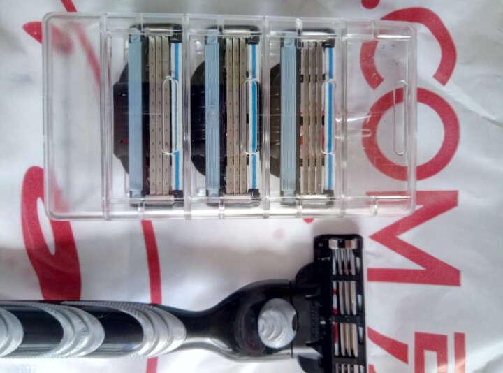 吉列Gillette手动剃须刀刮胡刀优惠装吉利 锋速3经典(1刀架1刀头+70g剃须啫喱) 晒单图