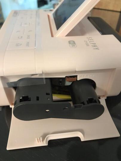 佳能(Canon)cp1300便携式照片打印机手机无线家用相印机小型随身迷你相片打印机 白色套餐二 晒单图