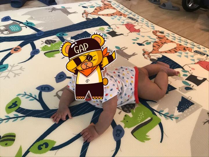 迪士尼(Disney)婴儿爬行垫 客厅儿童加厚可折叠双面XPE家用地垫 宝宝爬爬垫 智慧树200*180*1.5cm【卷筒款】 晒单图